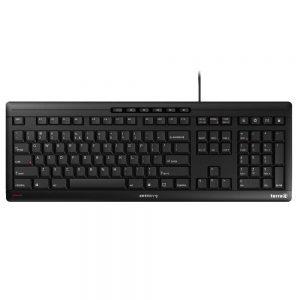 TERRA Keyboard 3500 Corded [DE] USB black baugleich zum Cherry Stream Keyboard JK-8500DE-2-1