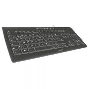TERRA Keyboard 3000 Corded [US/EU] USB black-2