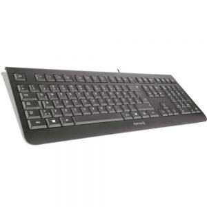 TERRA Keyboard 1000 Corded [FR] USB black/noir-2